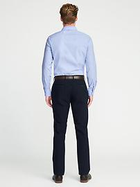 Slim-Fit Built-In Flex Signature Non-Iron Dress Shirt for Men