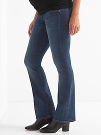 Maternity Inset Panel Perfect Boot Jeans