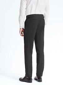 Monogram Slim Italian Tuxedo Pant