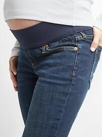 Maternity Demi Panel Girlfriend Jeans
