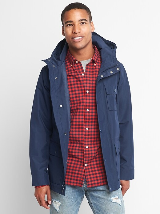 Gap Mens Ripstop Parka