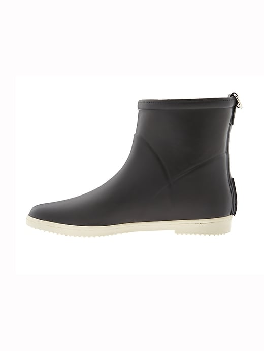 Minimalist Rubber Ankle Boot by Alice+Whittles&#174