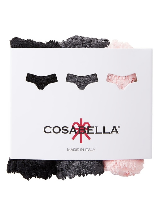 Cosabella &#124 Never Say Never Cutie Thong 3-Pack