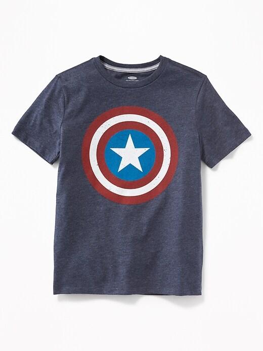 Boys Marvel Comics&#153 Captain America Tees
