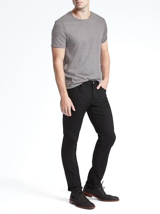 Luxury-Touch Crew-Neck T-Shirt