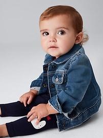 Première veste en denim 1969 pour lui (bébé)