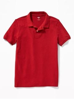 Oldnavy Uniform Built-In Flex Pique Polo for Boys Hot Deal