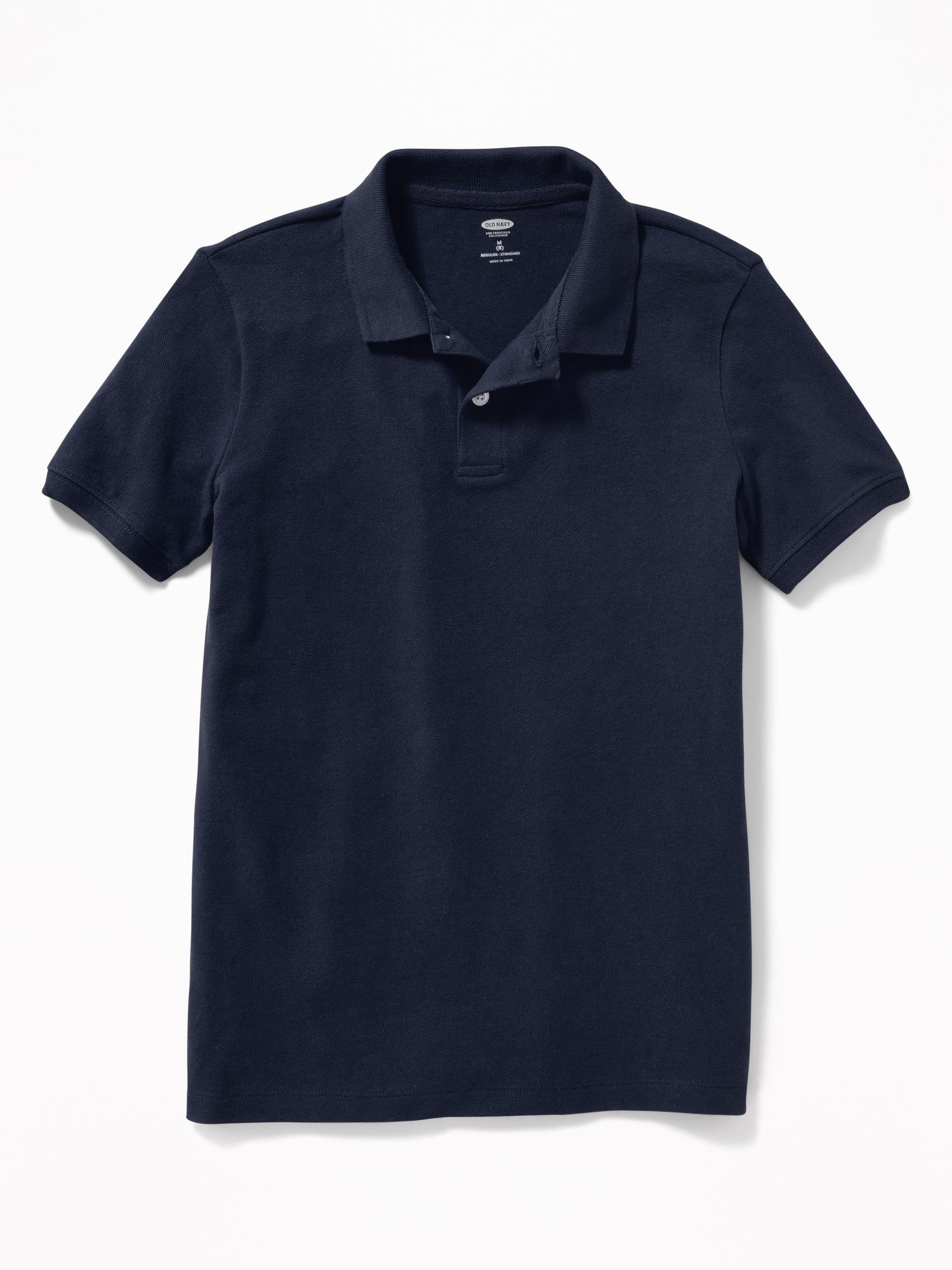 *Hot Deal* Uniform Built-In Flex Pique Polo for Boys