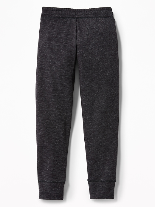 Relaxed Slub-Knit Joggers for Girls