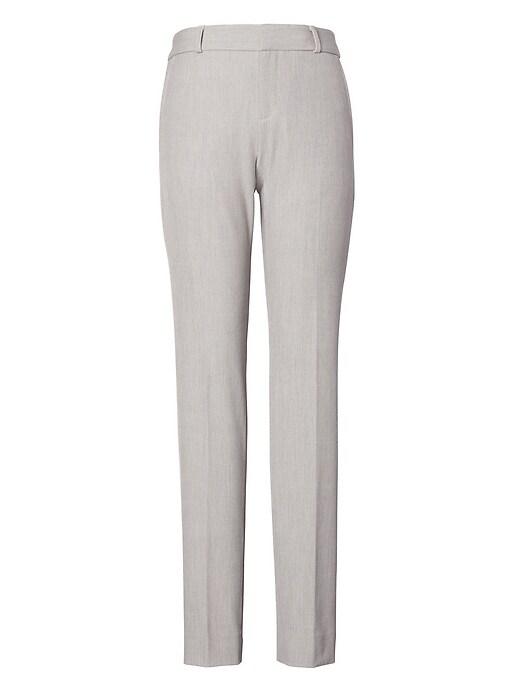 Ryan Slim Straight-Fit Machine-Washable Birdseye Pant