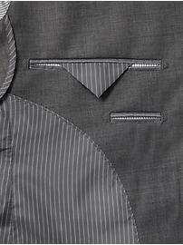 Standard Italian Wool Sharkskin Suit Jacket