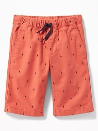 5803d85d4b Built-In Flex Twill Jogger Shorts for Boys on sale at Old Navy for ...