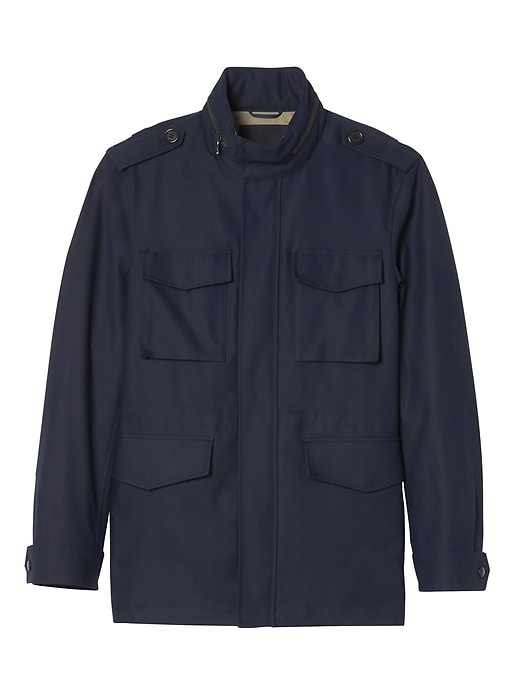 Water-Repellent Four Pocket Jacket
