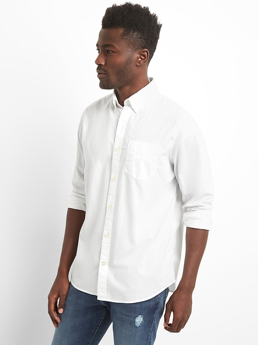 Lived-In True Wash Poplin Shirt
