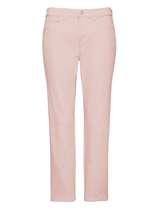 Girlfriend Pink Cropped Jean