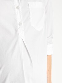 Maternity Classic White Popover Shirt