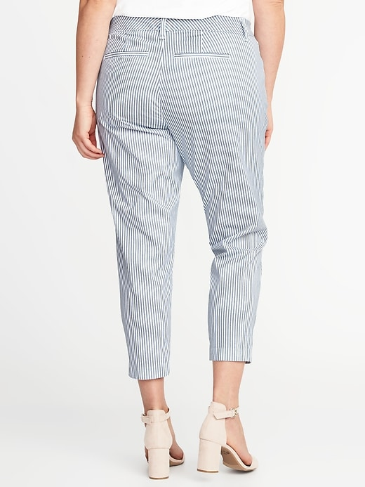 Chino à poches minceur, taille Plus