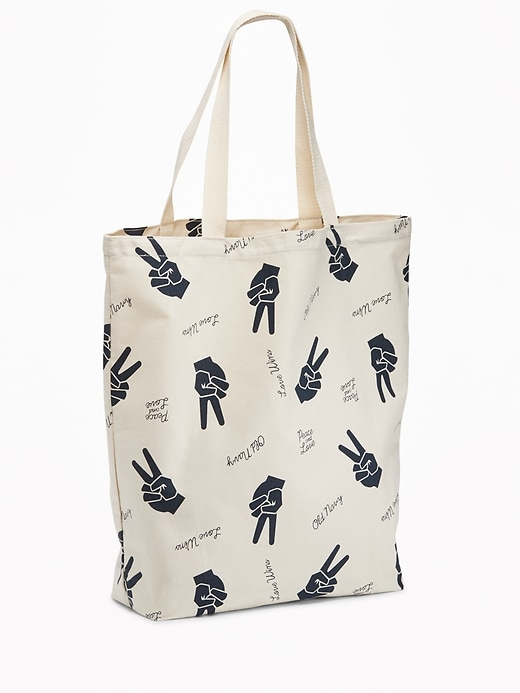 Peace Graphic Tote for Women