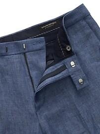 Standard Blue Linen Suit Pant