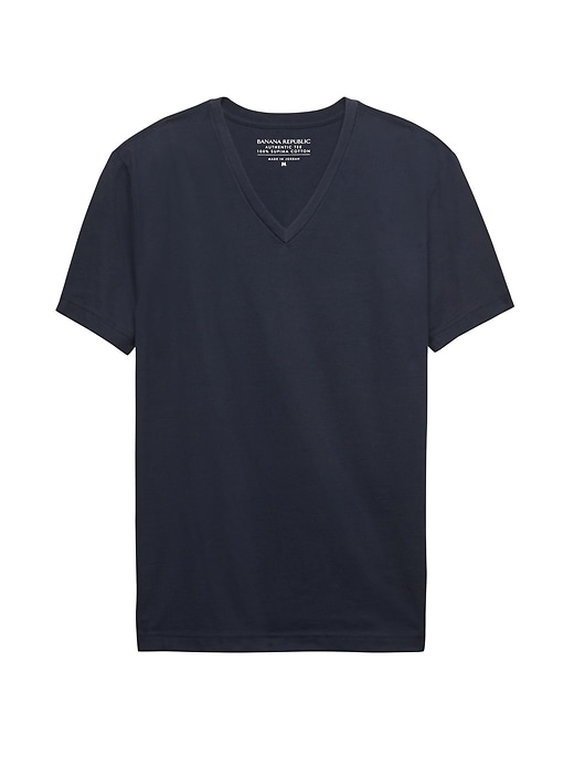 Banana Republic Authentic Supima Cotton V-neck T-Shirt