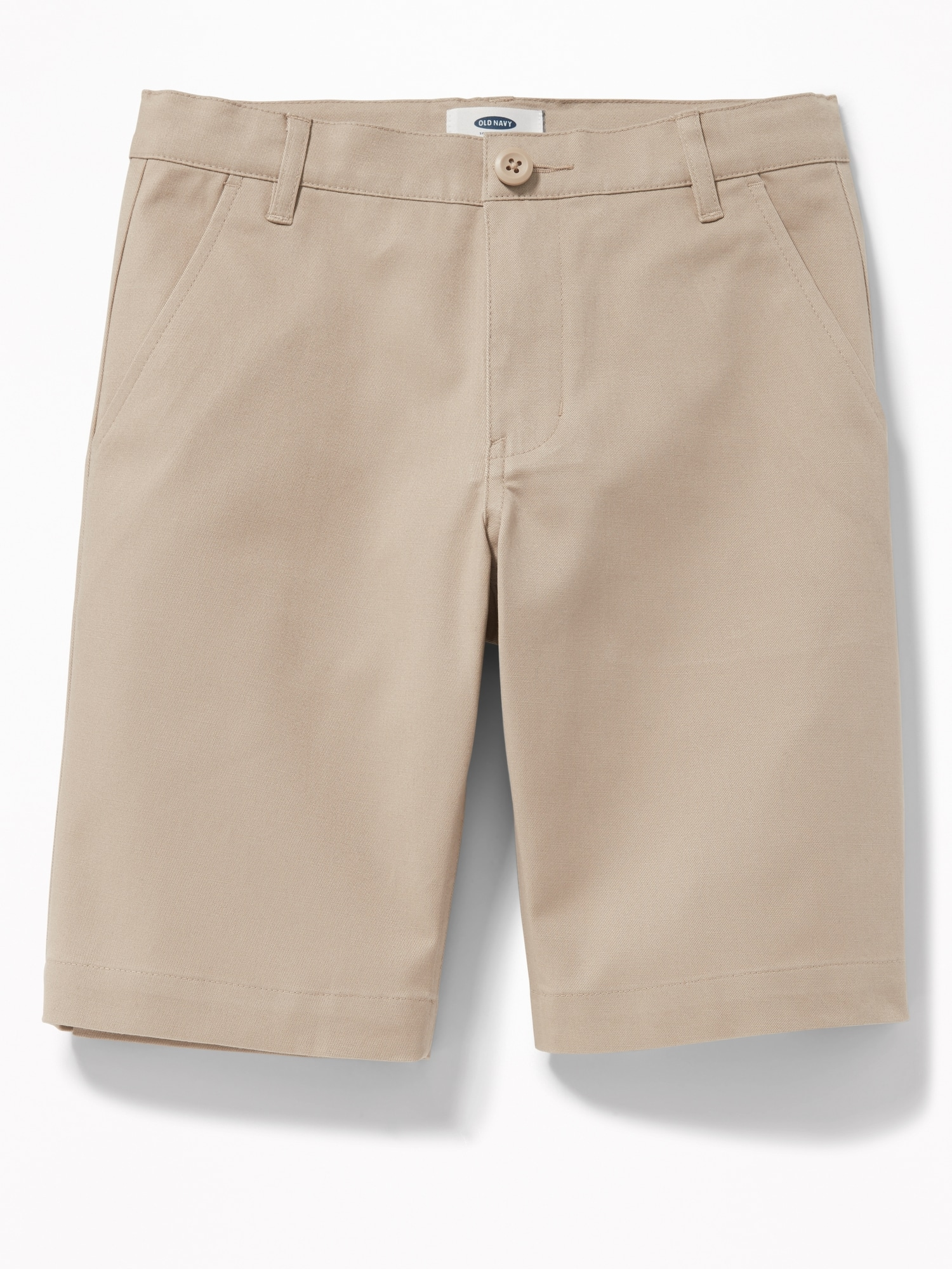 *Hot Deal* Built-In Flex Twill Straight Uniform Shorts for Boys