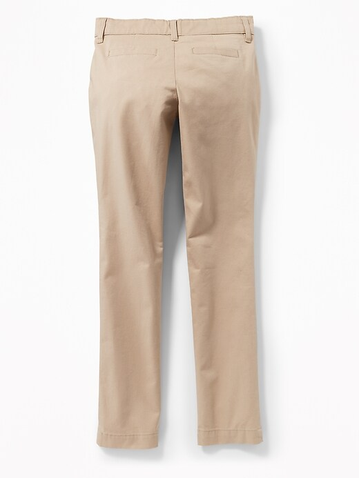 Skinny Uniform Pants for Girls