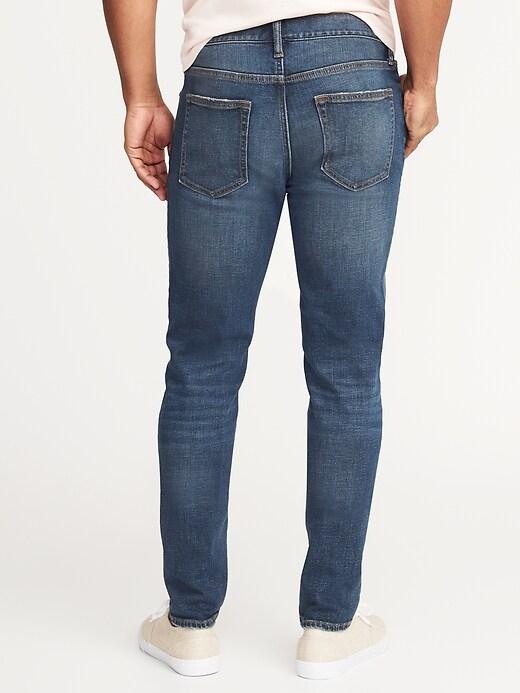 Relaxed Slim Built-In Flex Jeans For Men