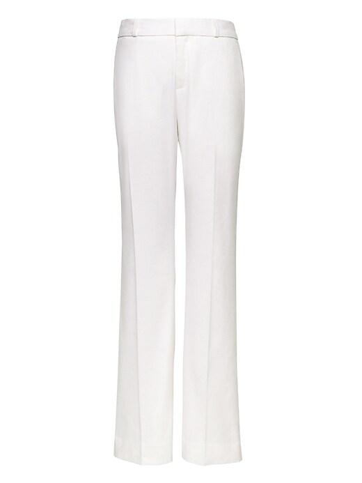 Logan Trouser-Fit Stretch Linen-Cotton Pant
