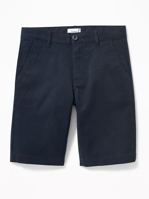Uniform Built-In Flex Stain-Resistant Shorts for Boys