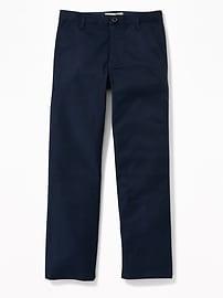 Pantalon d'uniforme droit Built-In Flex pour garçon