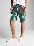 "10"" Vintage Wash Print Shorts with GapFlex"