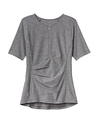 Pacifica Wrap Front Tee