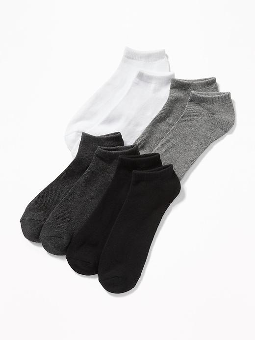 Ensemble de quatre paires de socquettes pour homme