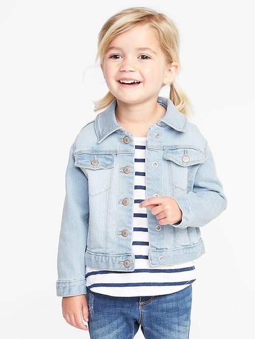 Jean Jacket For Toddler Girls