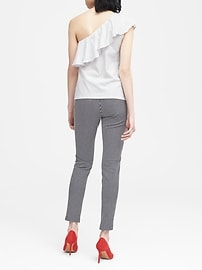 SUPIMA® Cotton One-Shoulder T-Shirt