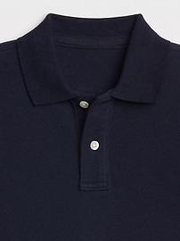 Kids Uniform Short Sleeve Polo Shirt