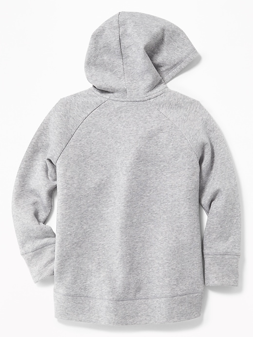 Logo Maple-Leaf Pullover Hoodie for Girls