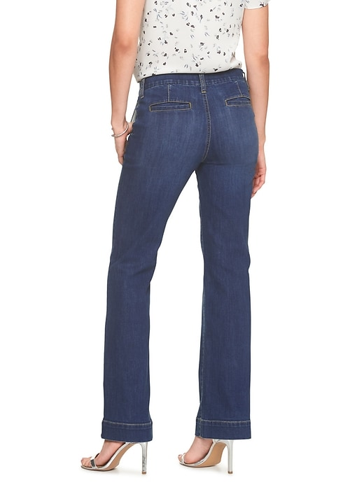 Medium Wash Trouser Jean