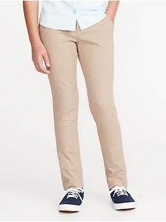 d3b32396140 Skinny Uniform Pants for Girls