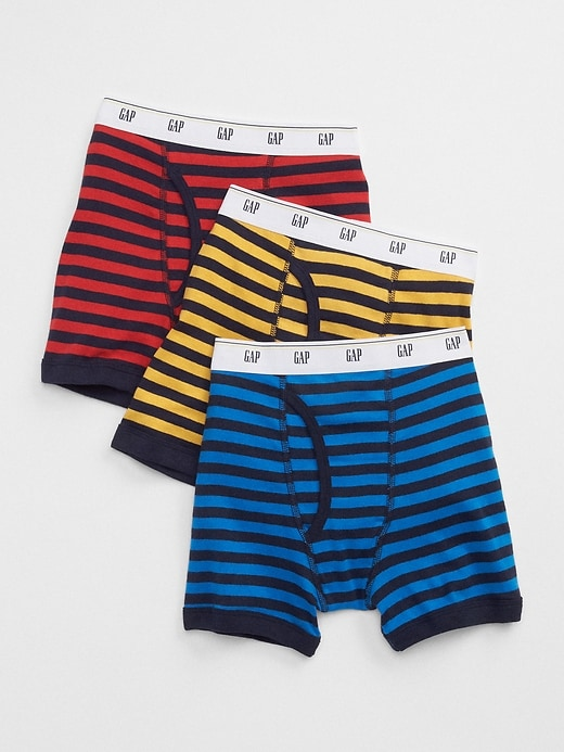 Kids Stripe Boxer Briefs (3-Pack)