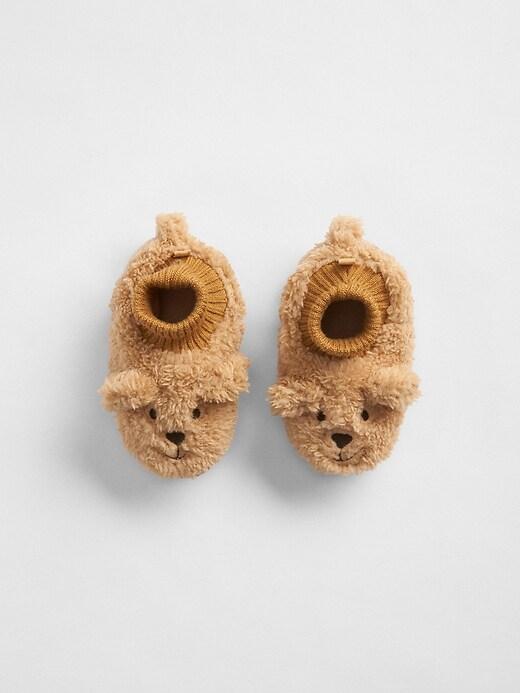 babyGap Cozy Bear Slippers