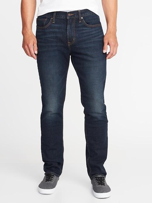 Athletic Built-In-Flex Jeans For Men