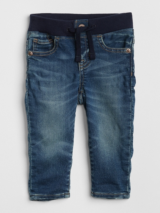 Baby Pull-On Slim Fit Jeans