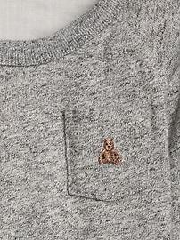 Baby Marled Pocket Sweatshirt