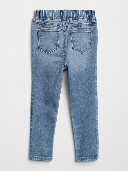 Toddler Destructed Jeggings with Stretch