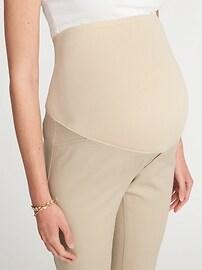 Maternity Full-Panel Pixie Ankle Pants