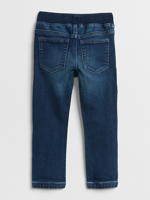 Toddler Pull-On Denim Jogger with Stretch