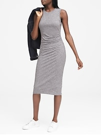 Bold Elements Long Sleeve Sheath Dress