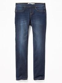 Skinny Built-In Tough Pull-On Jeans for Girls