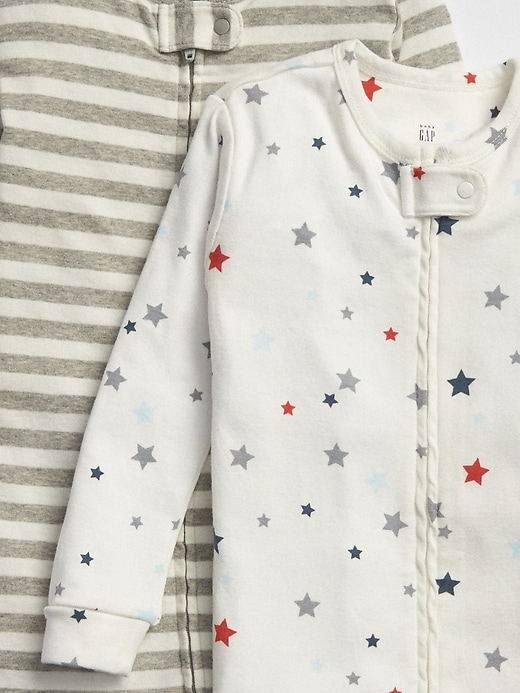 babyGap Star Stripe PJ One-Piece (2-Pack)